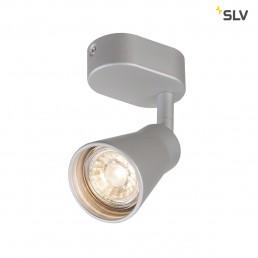 SLV 1000888 avo wandlamp single zilver 1xgu10
