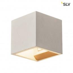 SLV 1000910 solid cube grijs 1xg9