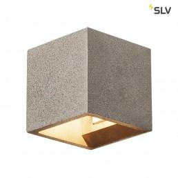 SLV 1000911 solid cube zwart zandsteen 1xg9