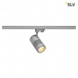 SLV 1000985 structec zilv.grijs 1xled 3000k 24w 60° 3-fase