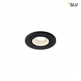 SLV 1001011 kamuela led zwart 1xled 3000k