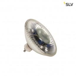 SLV 1001029 led qpar111 gu10 38° 3000k 630lm dimbaar
