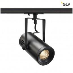 SLV 1001485 Euro Spot track 1-fase zwart 1xled 3000k 36°