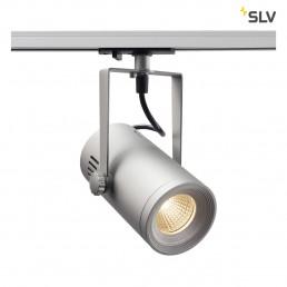 SLV 1001487 Euro Spot track 1-fase zilver 1xled 3000k 36°