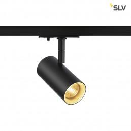 SLV 1001862 Noblo spot zwart 1xled 2700k 36° 1-fase