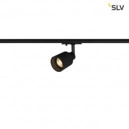 SLV 1001868 Puri track glas zwart 1xgu10 1-fase railverlichting
