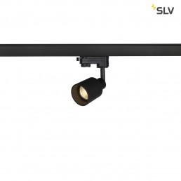 SLV 1001871 Puri track glas zwart 1xgu10 3-fase railspot