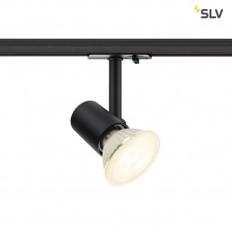 SLV 1001874 Spot track zwart 1xe27 1-fase railverlichting