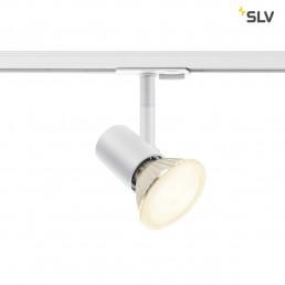SLV 1001875 Spot track wit 1xe27 1-fase railverlichting