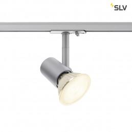 SLV 1001876 Spot track zilvergrijs 1xe27 1-fase railverlichting