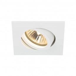 SLV 1001995 new tria 68 vierkant wit 1xgu10 inbouwspot