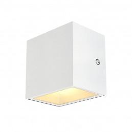 SLV 1002033 sitra cube wandlamp wit 1xled 3000k