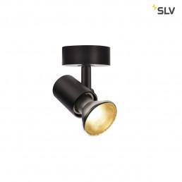 SLV 1002072 spot wandlamp zwart 1xe27