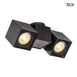 Actie SLV 1002215 Altra Dice double zwart 2xgu10