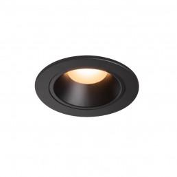 SLV 1003775 numinos dl s zwart/zwart 55gr kantelbaar 1xled 2700k