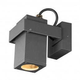 SLV 1004653 theo bracket wandlamp antraciet 1xgu10