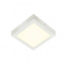 SLV 1004704 senser 18 opbouw vierkant wit 1xled 4000k