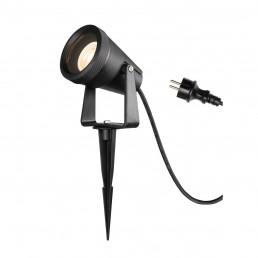SLV 1004757 Samrina sp zwart 1xgu10 prikspot tuinverlichting