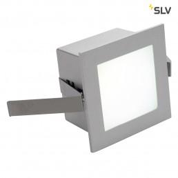 SLV 111260 Led Frame Basic led koelwit zilver wand inbouwspot