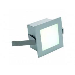 Aanbieding SLV 111265 Led Frame Basic led warmwit zilver wand inbouwspot