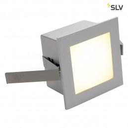 Actie SLV 111262 Led Frame Basic led warmwit zilver wand inbouwspot