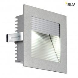 SLV 111290 Led Frame Curve led koelwit zilver wand inbouwspot