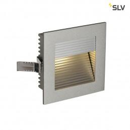 SLV 111292 Led Frame Curve led warmwit zilver wand inbouwspot