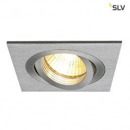 SLV 111351 New Tria 1 MR16 alu inbouwspot