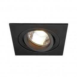 Actie SLV 111700 New Tria MR16 square zwart inbouwspot