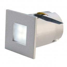 SLV 112711 Mini Frame LED zilvergrijs 6500K inbouwspot