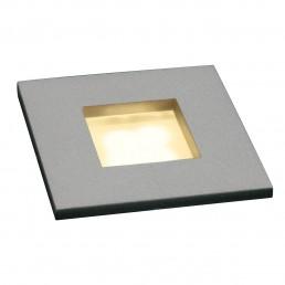 SLV 112712 Mini Frame LED zilvergrijs 3000K inbouwspot
