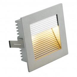SLV 112772 Flat Frame Curve G4 zilvergrijs inbouwspot