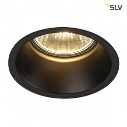 112910 SLV Horn GU10 zwart inbouwspot
