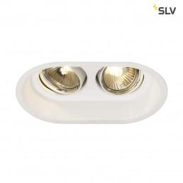 SLV 113111 Horn GU10 2 adjust wit inbouwspot