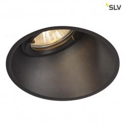 SLV 113150 horn-a qpar51 zwart 1xGU10