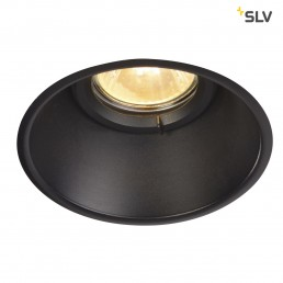 SLV 113160 Horn-O zwart 1xGU10