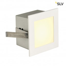 SLV 113262 Led Frame Basic led warmwit wit wand inbouwspot
