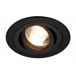 Aanbieding SLV 113480 New Tria MR16 round zwart inbouwspot