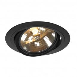 SLV 113520 New Tria Round QRB zwart inbouwspot