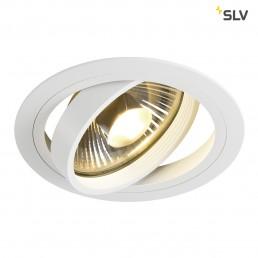 SLV 113540 New Tria rond ES111 wit inbouwspot