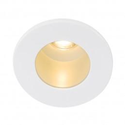 SLV 113671 Triton mini horn wit LED warmwit inbouwspot