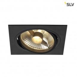 SLV 113830 New Tria 1 ES111 zwart inbouwspot