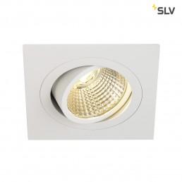 Actie SLV 113881 New Tria DL Square wit led inbouwspot