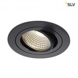 SLV 113900 New Tria DL Round, Set zwart led inbouwspot