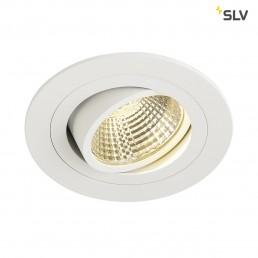 SLV 113901 New Tria DL Round, Set wit led inbouwspot