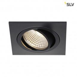 SLV 113910 New Tria DL Square, Set zwart led inbouwspot