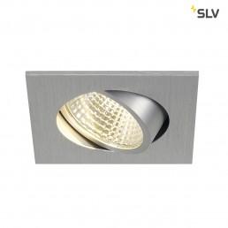 SLV 113966 New Tria 1 Set Square alu led inbouwspot
