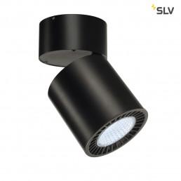 SLV 114180 supros 3000 zwart 1xled 4000k