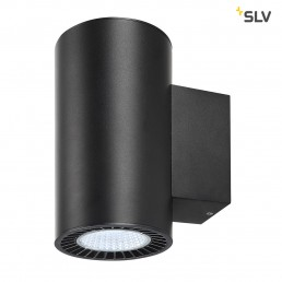 SLV 114190 supros zwart 2xled 4000k