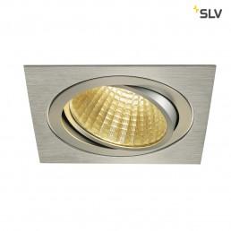 SLV 114286 New Tria 1 Set square alu led inbouwspot 2700K
